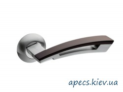 Ручки на розетке APECS H-0599-A-S/BW New Premier