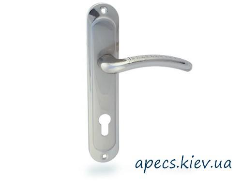 Ручки на планці Avers HP-85.0126-AL-S/Ni (120mm)