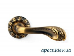 Ручки на розетке APECS H-2412-Z-AN Caramello