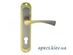 Ручки на планке Avers HP-85.0123-AL-S/G (125mm)