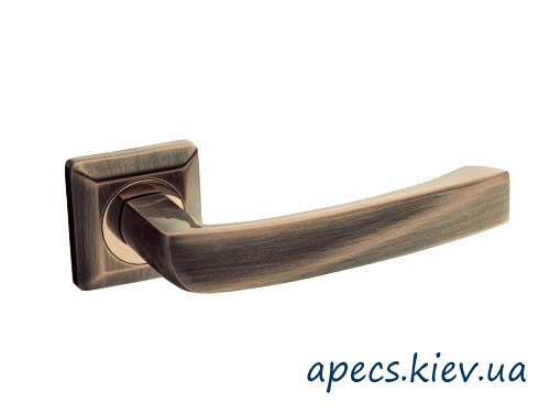 Ручки на розетке APECS H-0575-Z-SQUARE-AB