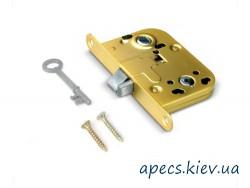 Защелка APECS 6000-WC/S-G eco+ручка+поворотник+отв КОМПЛЕКТ
