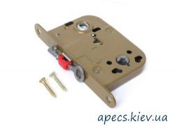 Защелка APECS 6000-WC/S-W eco+ручка+поворотник+отв КОМПЛЕКТ