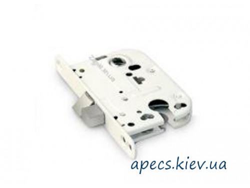 Замок врезной APECS 6000-W eco+ручка+накладка+отв КОМПЛЕКТ