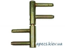 Петли ввертные APECS 3D-14-V2 (без колпачков)