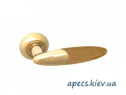 Ручки на розетке APECS H-0555-G/Beach