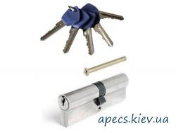 Цилиндр APECS EC-90(30/60)-NI (3 ключа)