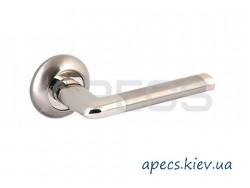 Ручки на розетке APECS H-0883-Z-NIS/NI