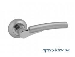 Ручки на розетке APECS H-0821-Z-NIS/NI