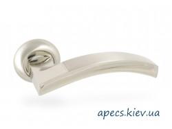 Ручки на розетке APECS H-0836-A-CRM/CR (Spindle 130)