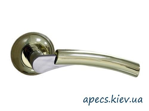 Ручки на розетке APECS H-0521-Z-G/CR Premier