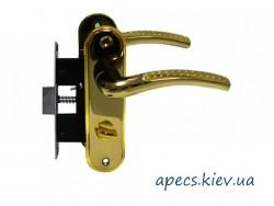 Защелка с ручками Avers 5226-WC-GM/G-L