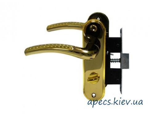 Защелка с ручками Avers 5226-WC-GM/G-R