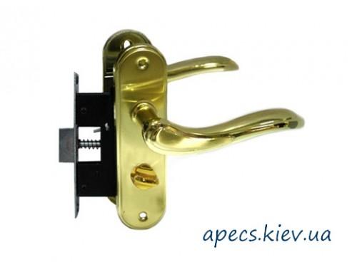 Защелка с ручками Avers 5264-WC-GM/G-L