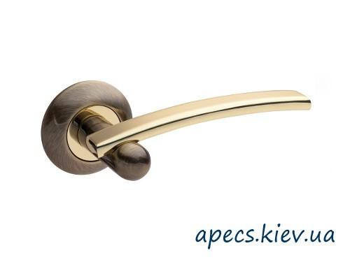 Ручки на розетке APECS H-0522-Z-AB/G Premier
