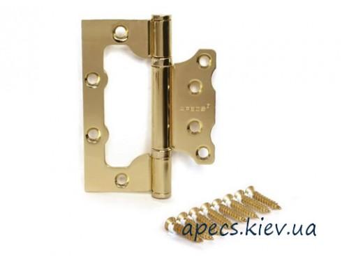 Петля накладная APECS 100*63*2-B2-Steel-G