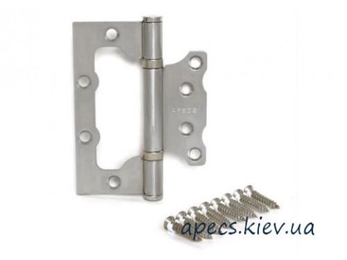 Петля накладная APECS 100*63*2-B2-Steel-NIS