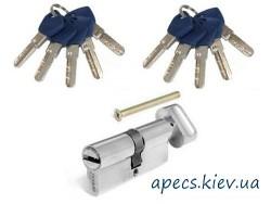 Цилиндр APECS EM-70-C-NI (10keys)