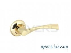 Ручки на розетке Avers H-0823-A-G-Twist