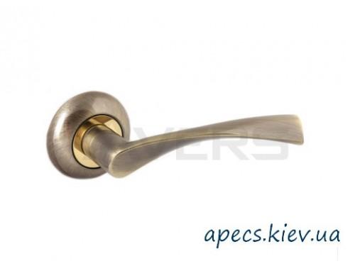 Ручки на розетке Avers H-0823-A-AB-Twist