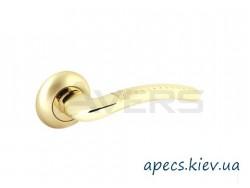 Ручки на розетке Avers H-0826-A-G/GM-Iris
