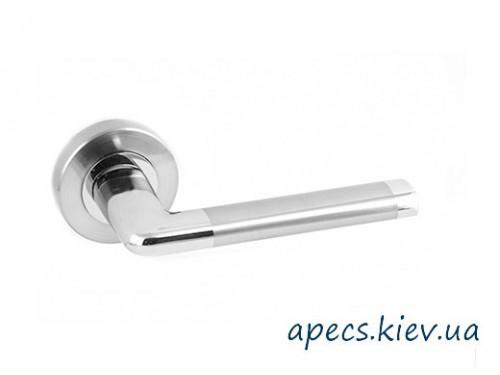 Ручки на розетке APECS H-0483-Z-NIS/NI