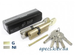 Цилиндр APECS Premier QM-110-C-G
