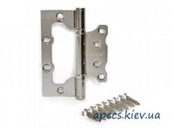 Петли накладные APECS 100*75*2,5-B2-V2-Steel-NIS (бабочка)