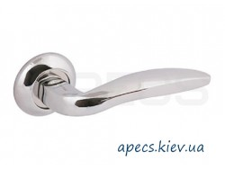 Ручки раздельные APECS H-0809-A-CR Beijin Megapolis