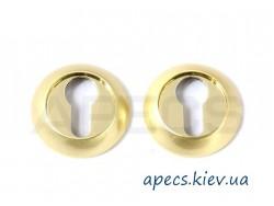 Накладка цилиндровая APECS DP-C-0802-G Megapolis