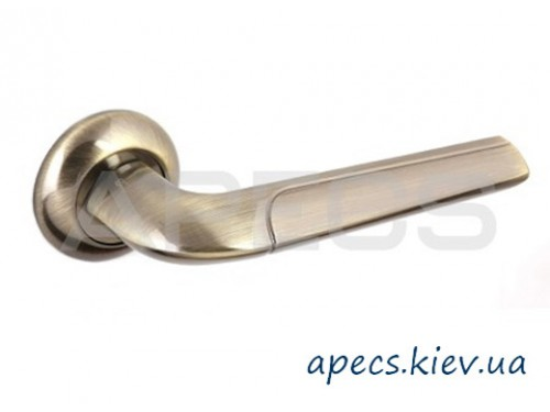 Ручки на розетке APECS H-0832-A-AB Megapolis Bombey