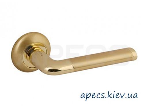 Ручки раздельные APECS H-0883-A-GM/G Hong Kong Megapolis