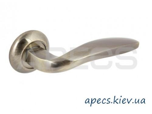 Ручки раздельные APECS H-0809-A-AB Beijin Megapolis