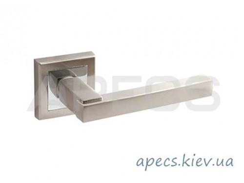 Ручки раздельные APECS H-18100-A-NIS/CR Windrose Sirocco