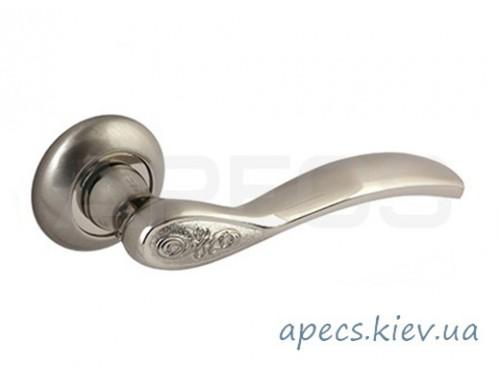 Ручки на розетке APECS H-0844-A-NIS/NI Megapolis Istanbul