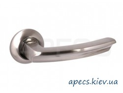 Ручки на розетке Avers H-0893-A-NIS (Spindle 130)