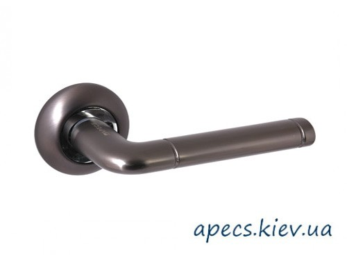 Ручки раздельные APECS H-0883-A-GRF (графит) Hong Kong Megapolis