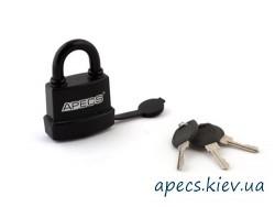 Замок навесной APECS PDR-50-70 в резине