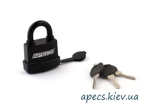 Замок навесной APECS PDR-50-55 в резине