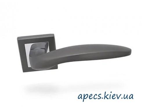 Ручки раздельные APECS H-18009-A-GRF Windrose Garmsil графит