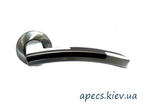 Ручки на розетке APECS H-0596-A-S/BW New Premier