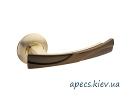 Ручки на розетке APECS H-0597-Z-GM/CF New Premier