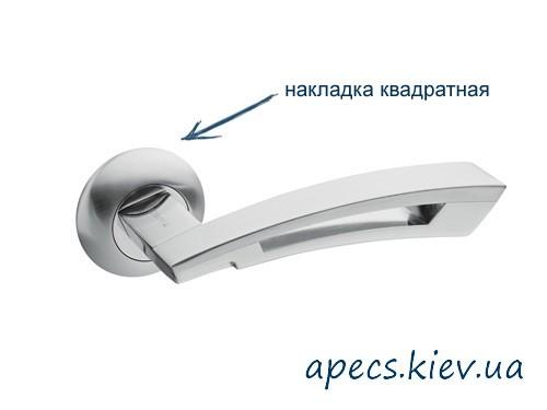 Ручки на розетці APECS H-0599-A-SQUARE-S/CR
