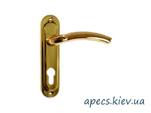 Ручки на планці APECS HP-1027-GM/G (61.5мм)