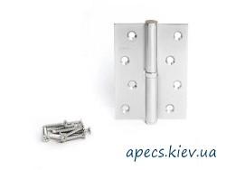 Петлі дверні APECS 100*62-B-NIS-R