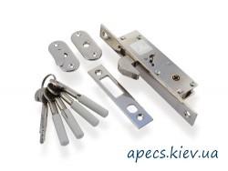 Замок врезной APECS 72-K-CR (крюк)