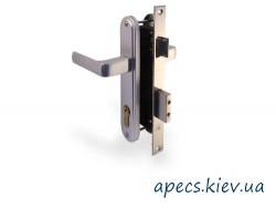 Замок врезной APECS 0626/60-G (без цил.)