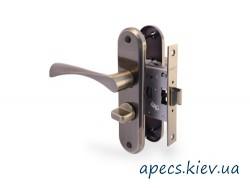Защелка с ручками APECS 5523-WC-AL-AB