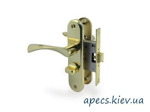 Защелка с ручками APECS 5523-WC-AL-G