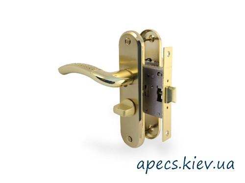 Защелка с ручками APECS 5526-WC-AL-GM/G (120mm)